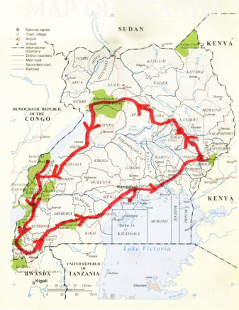 Map Of African Jungle.African Jungle Special Get To African Wildlife Safaris